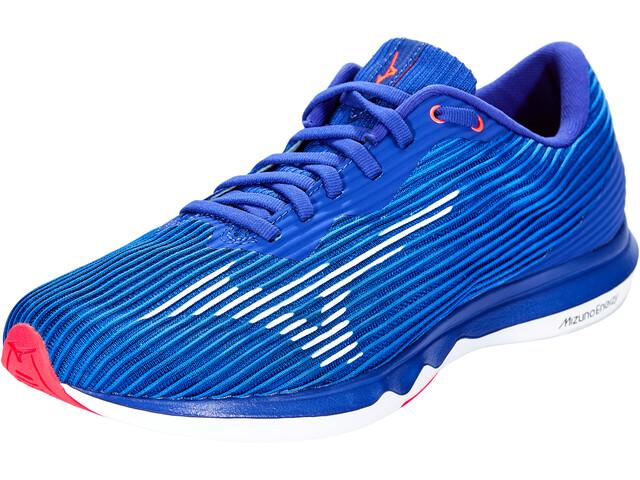 Mizuno Wave Shadow 4 Schuhe Herren reflex blue/white/diva pink